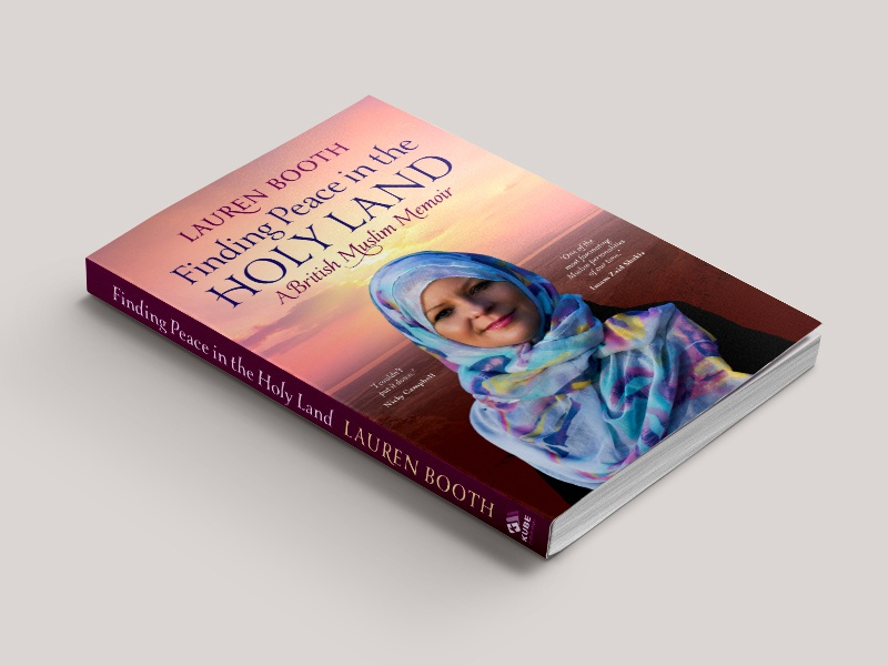 Finding Peace in the Holy Land tycoon creative design print inspiraldesign books coverdesign britishmuseum islam typography bookcover