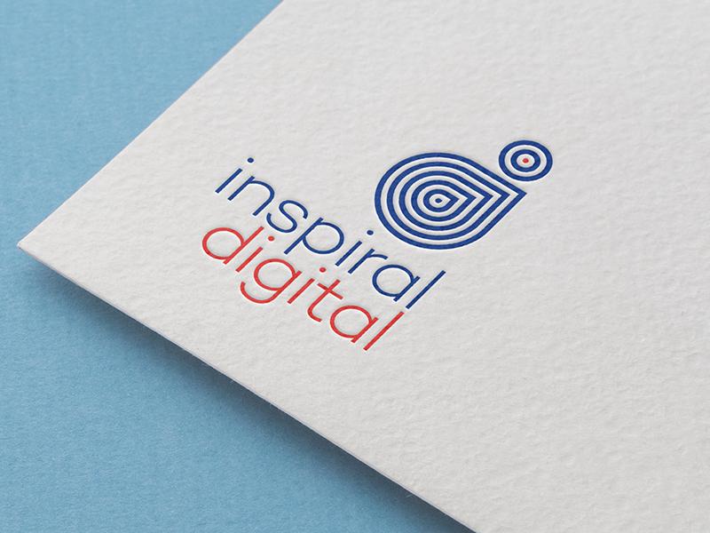 Inspiral Digital app website digital graphicdesign designlogo branding logodesign inspiraldigital inspiraldesign