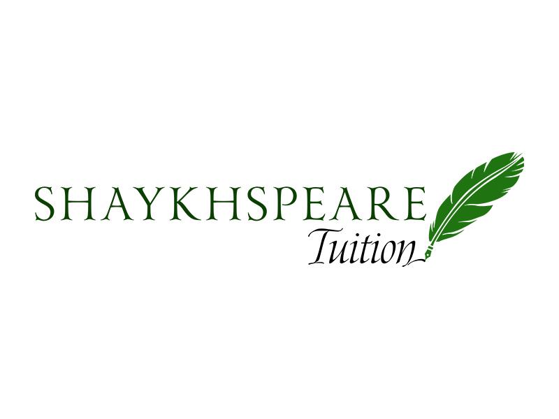 Shaykhspear Tuition english tuition learning education typography branding brand logo logodesign design creative inspiraldesign