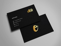 Etch Business Card