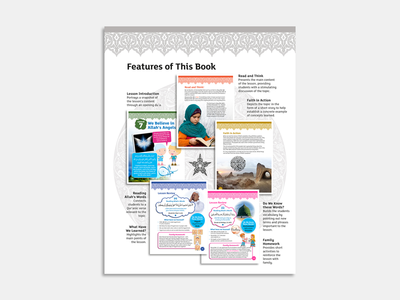 IQRA WISE Grade 3 Inside Page teacher education islamicpattern typography books