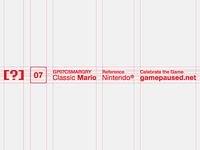 GP Classic Mario. Label.