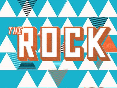 The Rock shirt jr high the rock