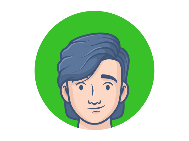 Avatar female character avatar icons avatar character character illustration design minimal icon vector illustration