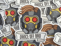 Star-Lord Stickers