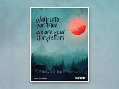 Storytribe Poster