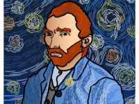 Van Gogh and the Starry Nine