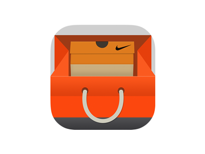 Nike Tienda App Icon By Dribbble Greg Dlubacz Dribbble By 21aa37