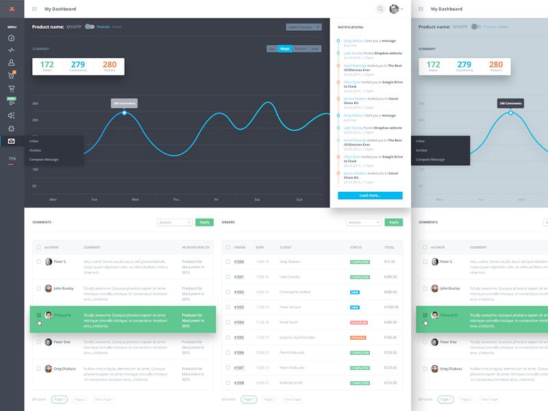 Dashboard menu web design graph chart website icon dashboard admin stats statistics ui material design
