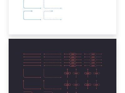 FREEBIE - Flowchart kit for Sketch wireframe ui kit free freebie workflow template user flow sketch sitemap diagram flow chart flowchart