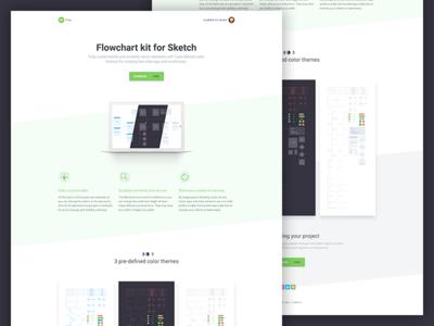FREE Flowchart kit for Sketch readymag kit arrows workflow userflow diagram flow chart sketch sitemap flowchart freebie free