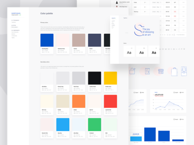 Design System point of sale pos colors stats guidelines colors palette ui elements style guide guide ui style guide ui guide design system