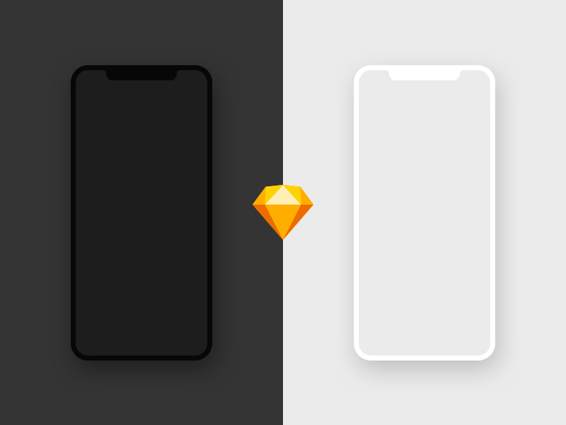 Free iPhone X Mockup - Sketch iphone mockup apple x sketch iphonex mockup iphone x mockup iphone x iphone freebie free