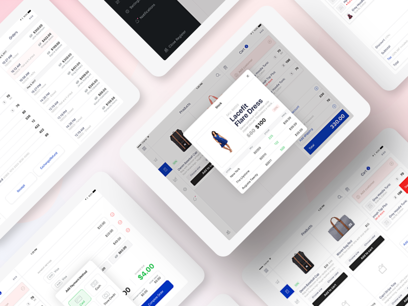 Point of Sale iPad app + Dribbble invite point of sale pos payment cart ecommerce ipad app ipad invite checkout invitation giveaway