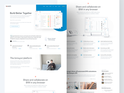 Build better together giveaway testimonials white space simple invitation invite shape dribbble bim website landing page landing