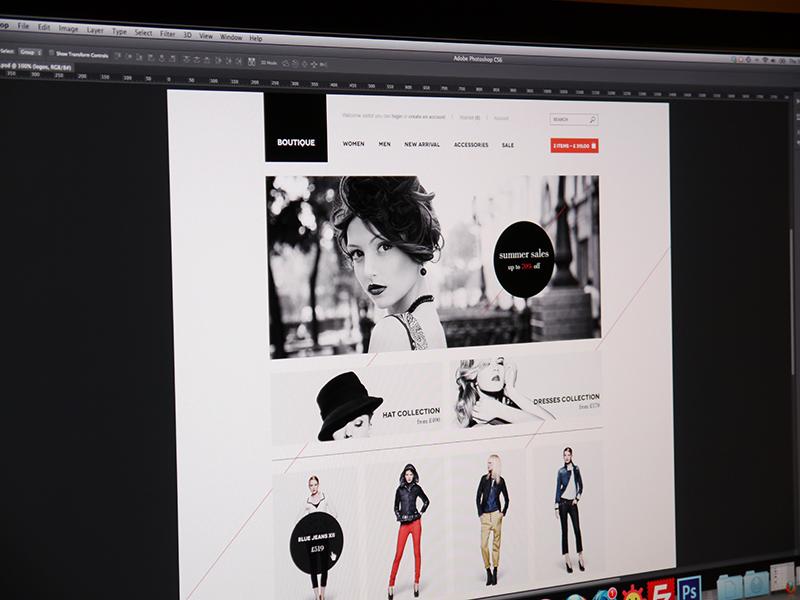 Boutique Shop website web web design design ecommerce e-commerce online shop shop store clothes minimalistic clean black white blackwhite fashion