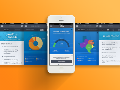 ERCOT Energy Saver App