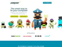 Jumpshot marketing site home