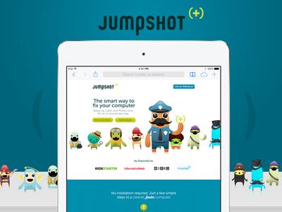 Jumpshot Landing Page