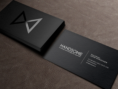 Dribbble handsome cards