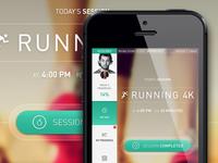 Fitness Web App Round 2