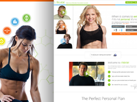 Fitness Product Landing Page