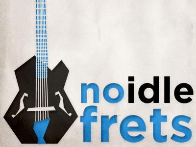 No Idle Frets Podcast Album Art jazz guitar frets podcast album art blue note music