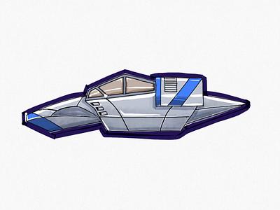 Spacecraft illustration
