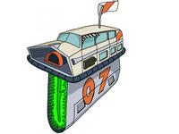 Toyota Galaxy Cruiser illustration