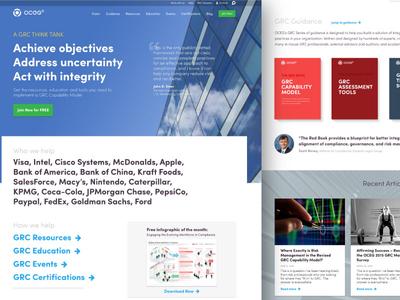 Oceg Concept 02 oceg homepage website