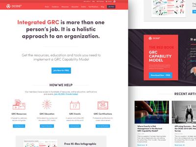 Oceg Concept 01 oceg homepage website