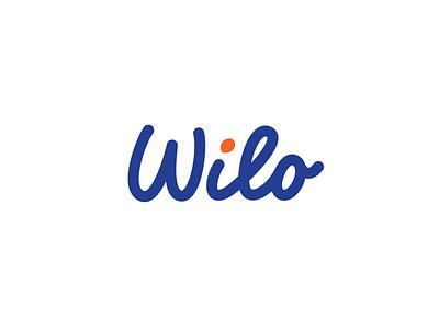 Wilo 01 handtype identity fat lines typography logo