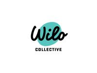 Wilo 02 handtype identity fat lines typography logo