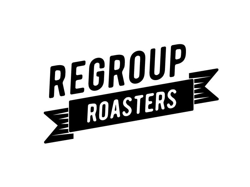 Regroup Roasters 1 of 4 regroup roasters coffee logo