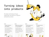 Dev Shop Landing Page
