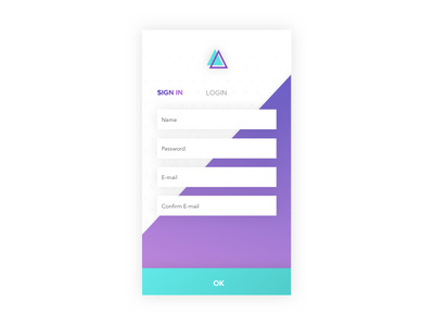 Daily UI 001 ui daily first my
