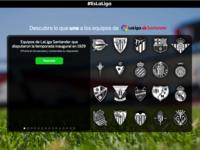 Game for spanish soccer league, LaLiga