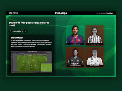 A trivia game for LaLiga See it Live! futbol soccer news web home game trivia