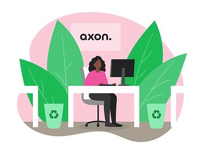 Website Illustrations | Axon Profile website illustration vector illustration business minimal adobe illustrator people illustration flat vector