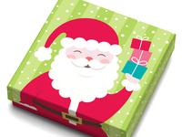 Santa Gift Card Box