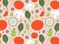 Fresh Salad pattern