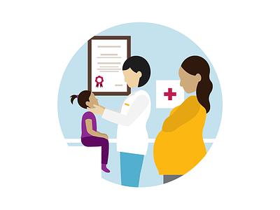 Infographic Illustration infographic health medical flat vector illustration