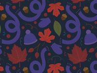 Fall Surface Pattern Design