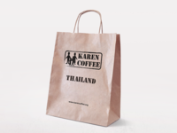Karen Coffee Paper Bag