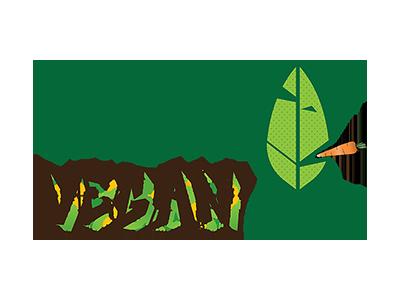 Gangster Vegan Logo fun vector illustrator logos
