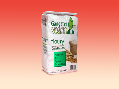 Flour Packaging Mockup creative photoshop packaging design products