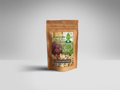 Dried Fruits Bag design mockups product design