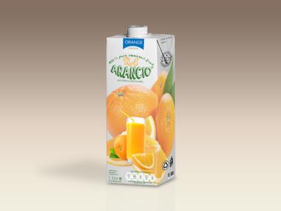 Orange Juice Bottle Tetra Brik Mockup photoshop psd product mock-ups product design