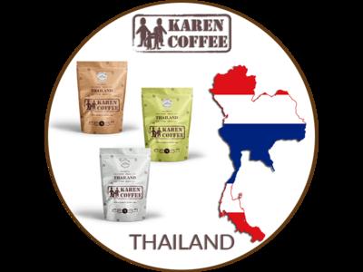 Thailand packaging food coffee