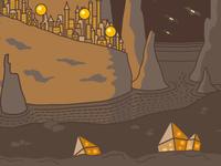 Fairytale illustration wip3